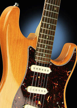 John Cardamone - Fender Stratocaster Electric Guitar Natural
