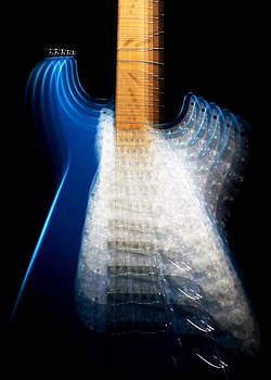 John Cardamone - Fender Stratocaster in Blue Sparkle Zoom