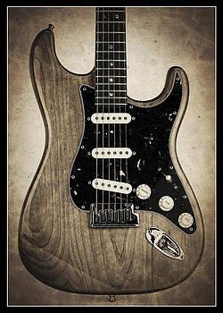 John Cardamone - Fender Stratocaster Sepia Border