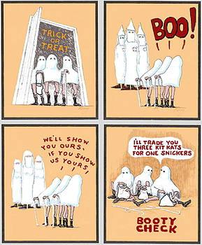 Feral Coots Halloween by R  Allen Swezey