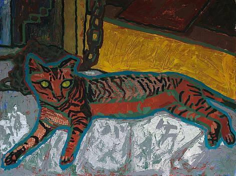 Feral Gato by Yvonne Gaudet
