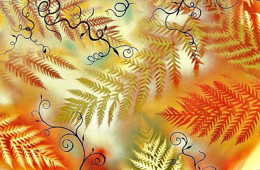 Fern explosion by Holly Smith