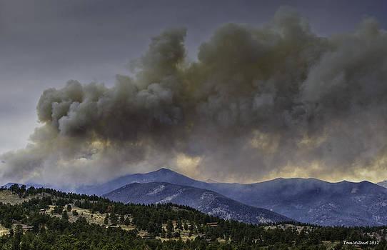 Fern Lake Fire by Tom Wilbert