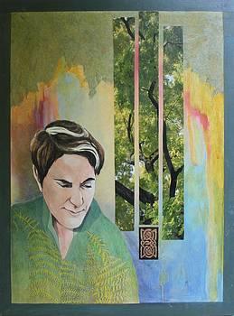 Fern Woman by Claudia Stewart