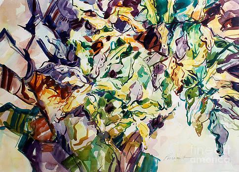 Ferns and Bismark Lines  by Roger Parent