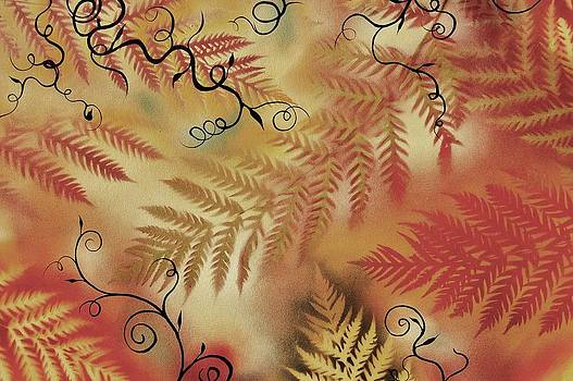 Ferns calm by Holly Smith