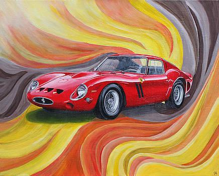 Ferrari 250 GTO by Jennifer Hayes