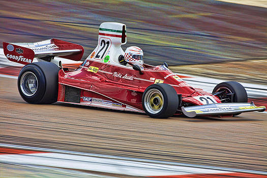 Ferrari 312T by Peter Falkner