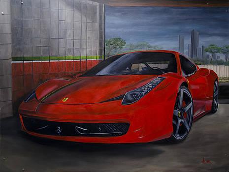 Ferrari 458 Italia by Aaron Acker