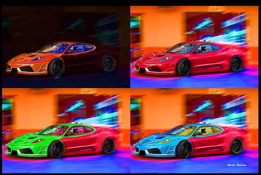 Gunter Nezhoda - Ferrari Collage