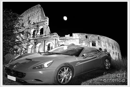 Ferrari in Rome by Stefano Senise