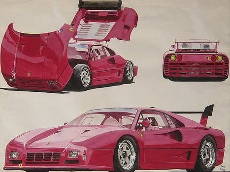 Ferrari Prototype by Ronald Young