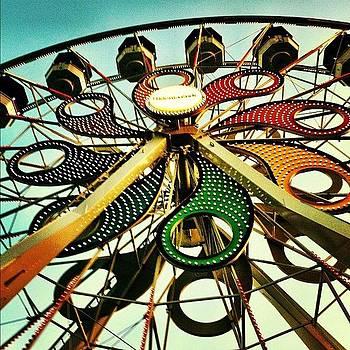 Ferris Wheel At Hershey Park, Pa. 🎡 by Laura Mazurek