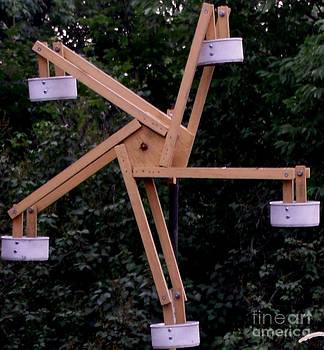 Gail Matthews - Ferris Wheel Bird Feeder