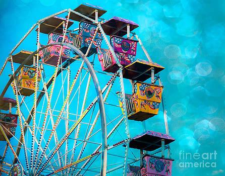 Sonja Quintero - Ferris Wheel Bokeh
