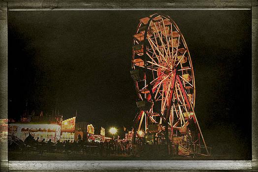 Laura Carter - Ferris Wheel Carnival Photograph Fine Art Print
