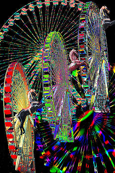 Ferris Wheel Fantasia by Lisa Yount