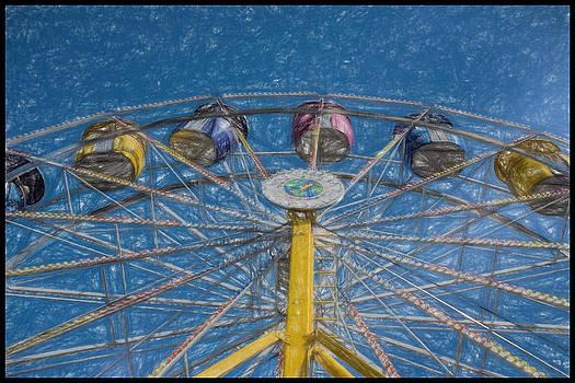 Ferris Wheel Fantasy by Eric  Bjerke