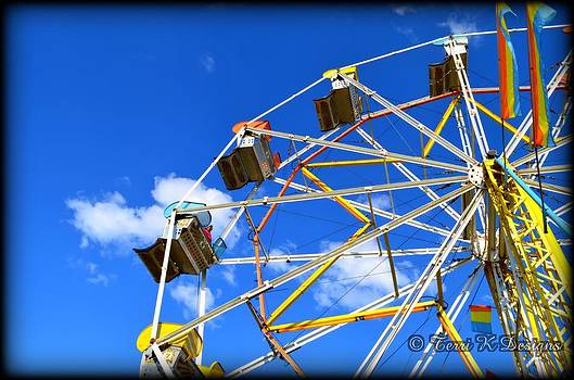 Ferris Wheel by Terri K Designs