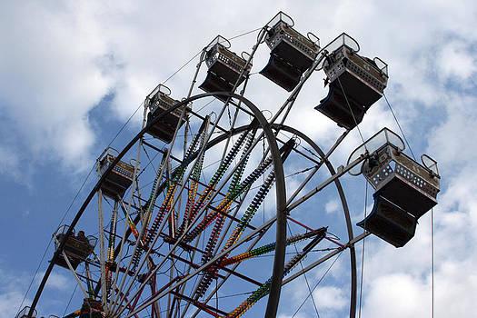 Ferris Wheel Three by Laurie Poetschke