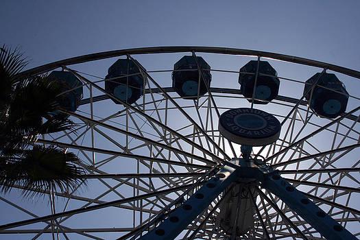Ferris Wheel Two by Laurie Poetschke