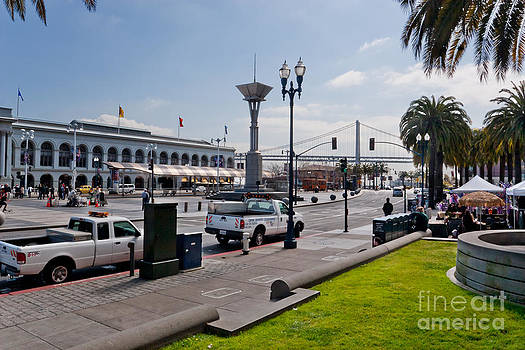 Jo Ann Snover - Ferry Building and The Embarcadero