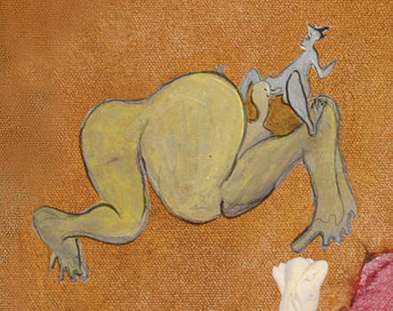 Les fesses en l'air.. by Bernard RENOT