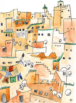 Anna Elkins - Fez Medina Roofline