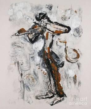Fiddle Dee Dee by Helena Bebirian