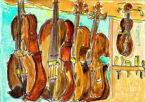 Fiddle Shop by Andrea Rubinstein