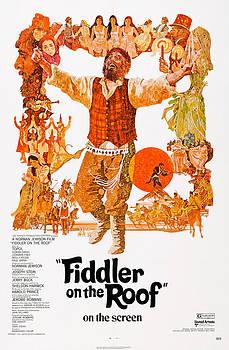 Fiddler On The Roof, Topol Center, 1971 by Everett