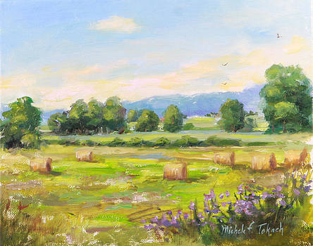 Field Across from Crabtree Gardens by Michele Tokach