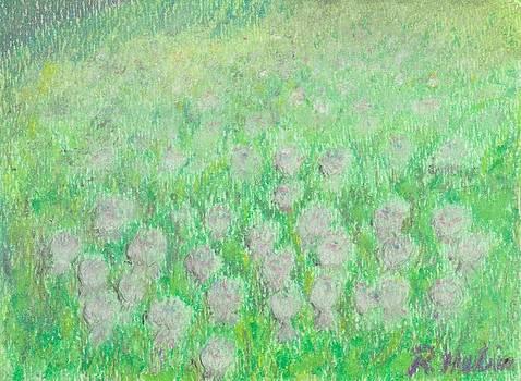 Field of Clover by Renee Helin