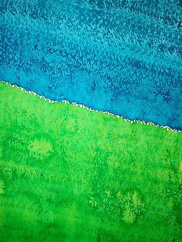 Field of Dreams original painting by Sol Luckman