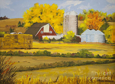 Fields of Gold II by Terry Anderson