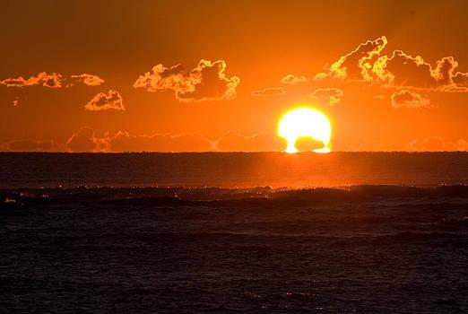 Fiery Sunrise by Greg Graham