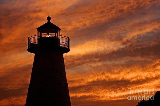 Amazing Jules - Fiery Sunset