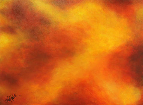Fiery Sunset by Molly Roberts