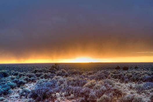 Fiery Sunset by Scott Slattery
