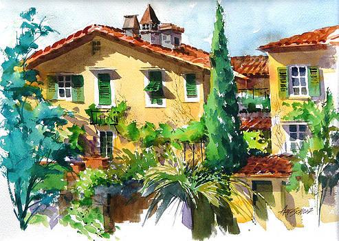 Fiesole Villa by Art Scholz