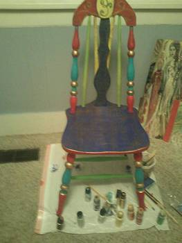 Fiesta Chair by Crystalin Ian