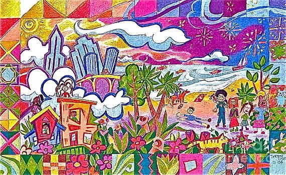 Fiesta Metro by Linda Zolten Wood