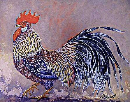 Fiesta Rooster by Amanda Hukill