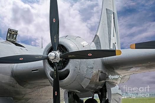 Fifi B-29 WW II Bomber by Joenne Hartley