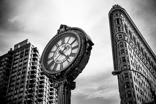 Fifth Avenue Building Clock by Jose Maciel