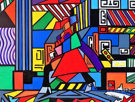 Fifth Avenue by Ruben Archuleta - Art Gallery