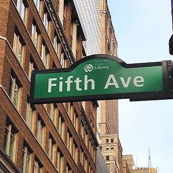 Eve Tamminen - Fifth Avenue.  #newyorkcitymemories