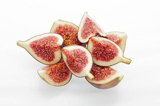 Fig segments by Dawn Gilfillan