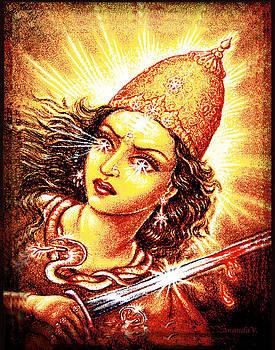 Fighting Goddess by Ananda Vdovic