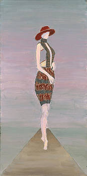 Figure-Boston Fashion Exhibit by Carmela Cattuti